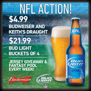 Catch All Your NFL Action